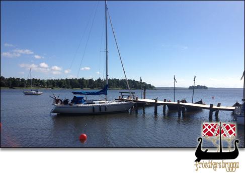 båtbrygga frösåker